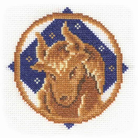 Идея для Новогоднего подарка.  Вышивка крестом Знаки зодиака.